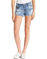 Jessica Simpson - Cherish Denim Shorts - Lyst