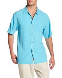 Tommy Bahama - Islander Fronds Silk Original Fit Short Sleeve Shirt - Lyst
