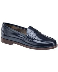 Johnston & Murphy - Gabby Leather Loafer - Lyst