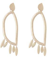 Rebecca Minkoff - Organic Dangle Earrings - Lyst