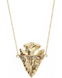 House of Harlow 1960 - Arrowhead Pendant Necklace - Lyst