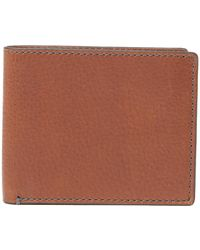 Fossil - Richard Leather Wallet - Lyst