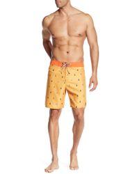 Captain Fin - Hanselhoff Patterned Board Shorts - Lyst