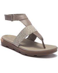 Sorel - Torpeda Ankle Strap Sandal - Lyst