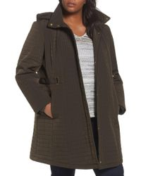 Gallery - Quilted Jacket (plus Size) - Lyst