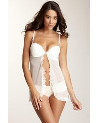 Blush Lingerie - Sweet Nothings Push-up Cami Doll - Lyst