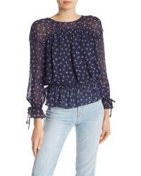 Joie - Lystra Floral Silk Top - Lyst