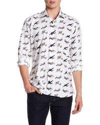 Jared Lang - Jet Plane Pattern Shirt - Lyst