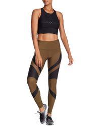 Karma - Gabriella Mesh Colorblock Leggings - Lyst