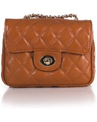 Zenith - Quilted Leather Mini Bag - Lyst