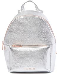 Ted Baker - Pearen Soft Grain Mini Leather Backpack - Lyst