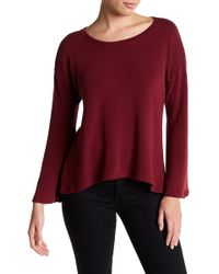 Go Couture - Bell Sleeve Pullover Sweater - Lyst