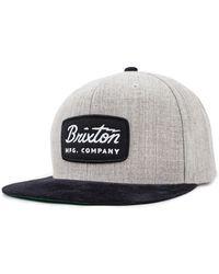 Brixton Jolt Snapback Cap - Multicolour