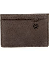 Belstaff - Citymaster Leather Card Holder - Lyst