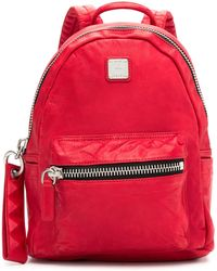 MCM - Tumbler Leather Backpack - Lyst