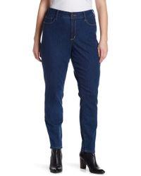 NYDJ   Alina Legging Jeans (plus Size)   Lyst