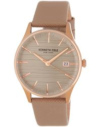 Kenneth Cole - Women's Textured Strap Watch, 32mm - Lyst