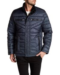 Bugatchi - Long Sleeve Puffy Jacket - Lyst