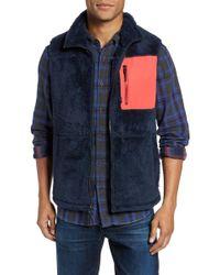 Surfside Supply - Colorblock Fleece Vest - Lyst