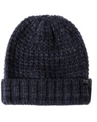 Bickley + Mitchell - Cuffed Popcorn Knit Beanie - Lyst