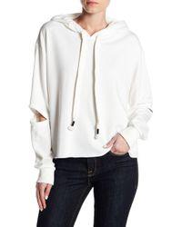 Lush - Elbow Slit Sweatshirt - Lyst