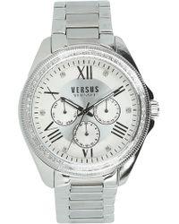 Versus - Women's Elmont Swarovski Crystal Accent Bracelet Watch, 40mm - Lyst