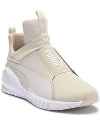 PUMA - Fierce Bleached Hi-top Sneaker - Lyst 850d3d38e