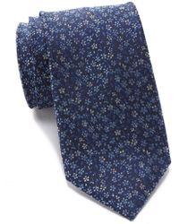Tommy Hilfiger - Silk Botanical Tie - Lyst