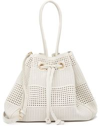 Deux Lux - Aquarius Drawstring Bucket Bag - Lyst
