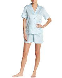 Natori - Ming Pyjama Shirt & Shorts 2-piece Set - Lyst