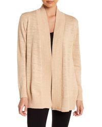Eileen Fisher - Shaped Cardigan - Lyst