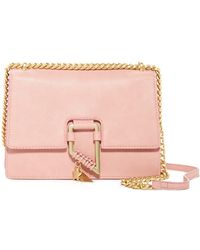 Foley + Corinna - Chain Strap Leather Crossbody Bag - Lyst