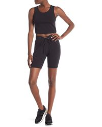 Material Girl - Lace-up Biker Shorts - Lyst