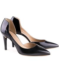 Perla Formentini - Giuliana Leather Pump - Lyst