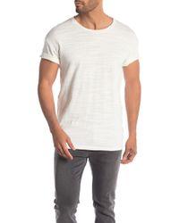 AllSaints - Tyed Short Sleeve Tee - Lyst