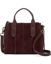 Lucky Brand - Nela Small Leather Satchel - Lyst