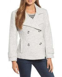 Halogen - Double Breasted Jacket - Lyst
