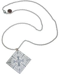1AR By Unoaerre - Filigree Pendant Necklace - Lyst