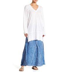 XCVI - Kendall Crochet Panel Maxi Skirt - Lyst