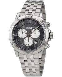 Raymond Weil - Men's Chronograph Grey Watch, 43mm - Lyst
