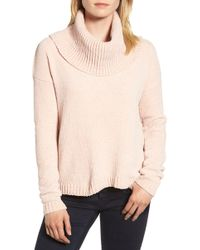 MICHAEL Michael Kors - Cowl Neck Sweater - Lyst