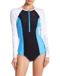 Volcom - Colorblock Bodysuit - Lyst