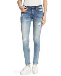 Miss Me Skinny Jeans - Blue