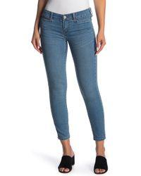 Free People - Low Slung Skinny Jeans - Lyst