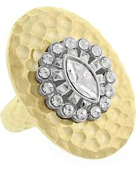 1928 - Crystal Dome Ring - Size 7 - Lyst