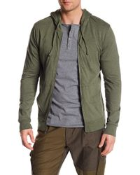 Unsimply Stitched - Lightweight Front Zip Hoodie - Lyst