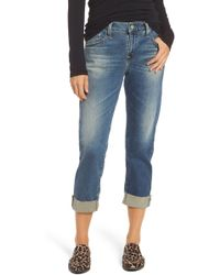 AG Jeans - The Ex-boyfriend Slim Jeans (14 Years Foxtail) - Lyst