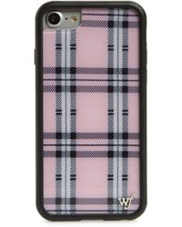 Wildflower - Tartan Plaid Iphone 6/7/8 Plus Case - Lyst