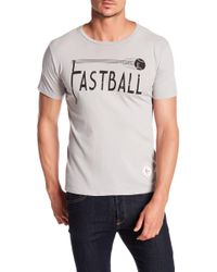 7th Inning Stretch - Fastball Crew Neck Tee - Lyst