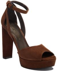 f6e77499bf1 Lyst - Stuart Weitzman  hijinx  Platform Sandal (women)